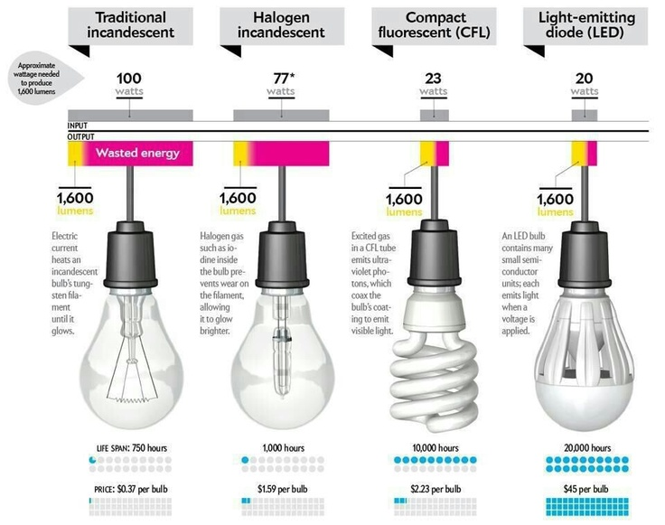 Home Energy Savings LED Lights
