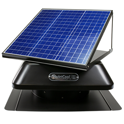 QuietCool Solar Roof Attic Fan